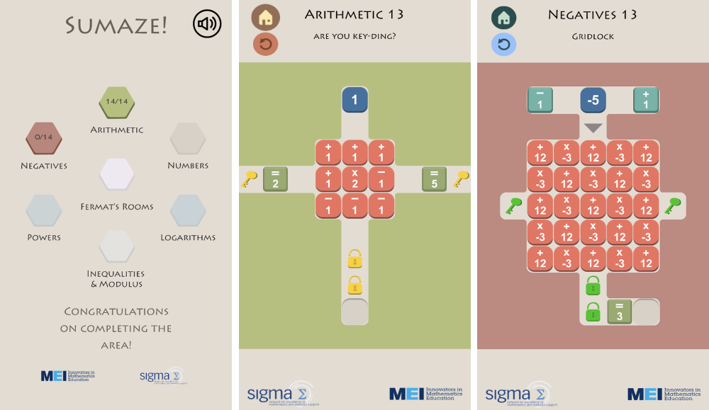 Sumaze выглядит как многие другие игры-головоломки