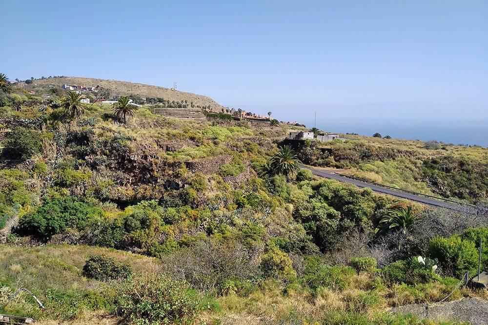 Часть острова, где живу я