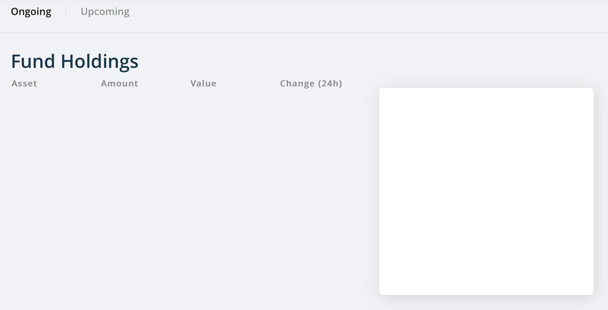 В бета-версию личного кабинета можно попасть, если попросить ссылку у админов телеграм-канала CrowdWiz. Но там пусто — никаких фондов коллективного разума