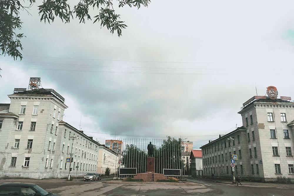 Улица Ленина — центральная улица Воркуты