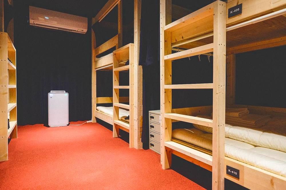 Кровати в хостеле. С такой я и упала. Фото: Booking.com