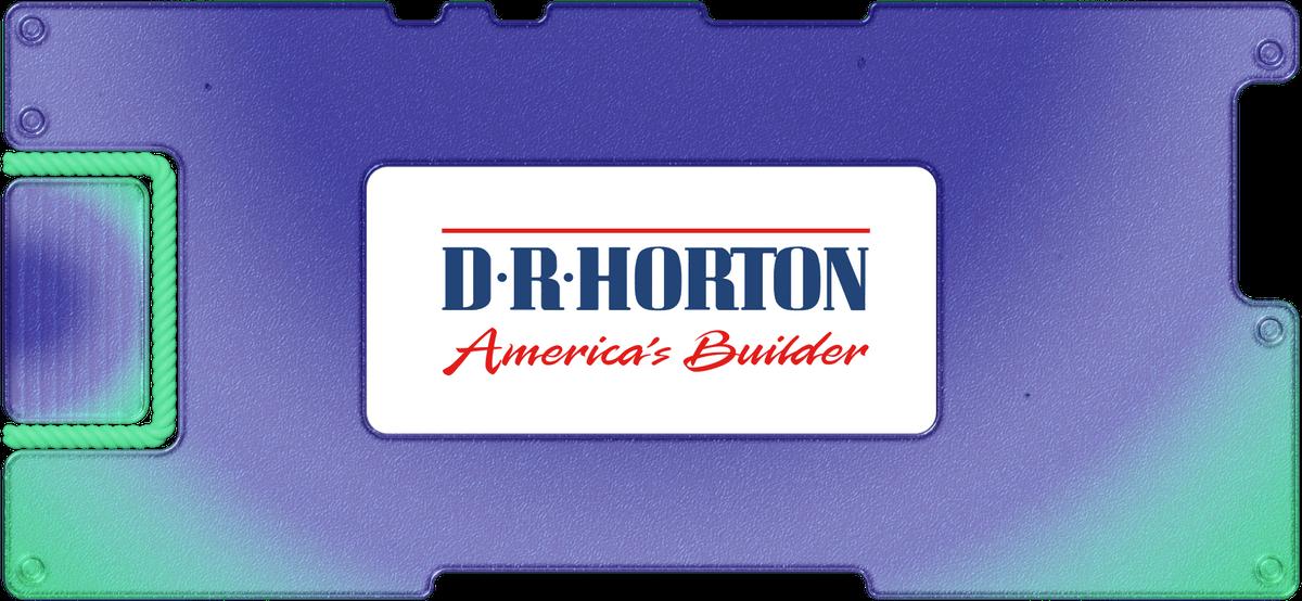 Обзор DRHorton: как себя чувствуют американские строительные компании