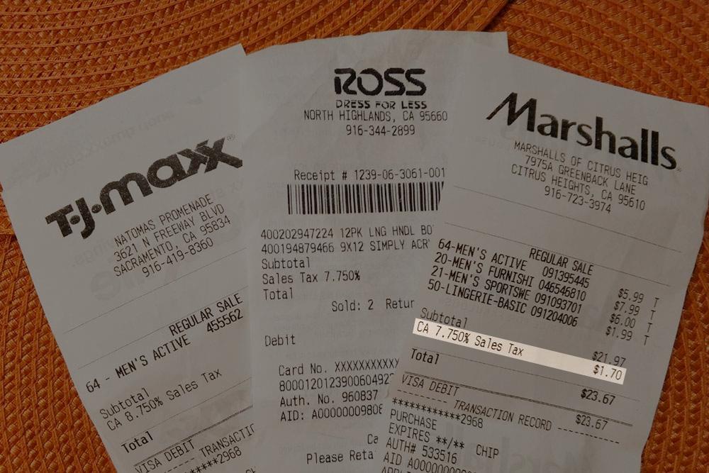 Цены в магазинах указаны без учета налогов. Итоговая цена приводится в чеке