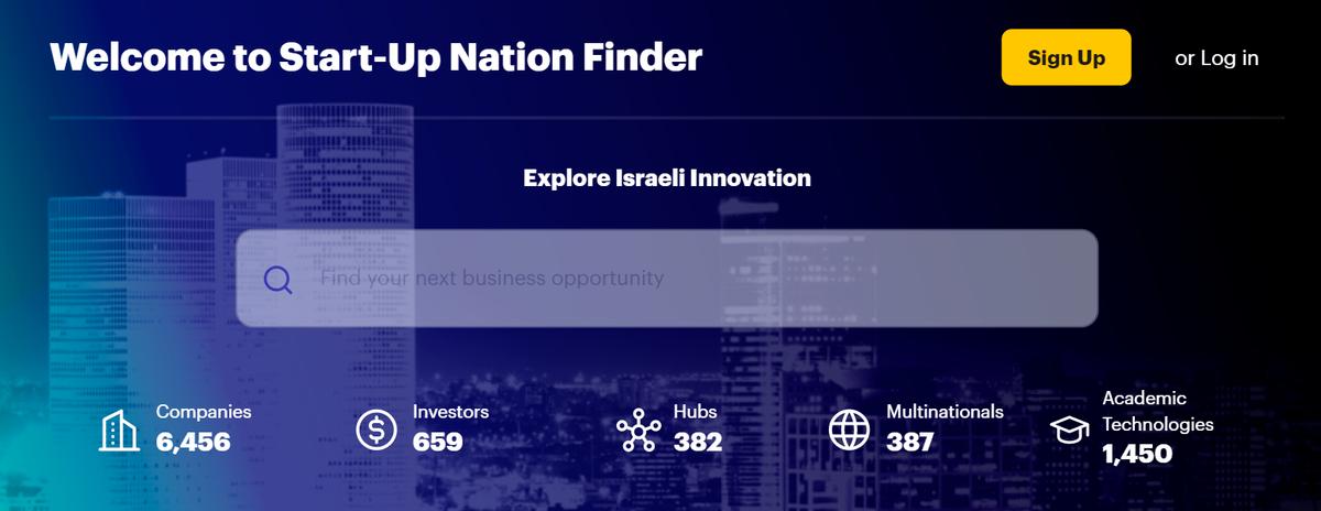 Количество технологических компаний, инвесторов, стартап-хабов, мультинациональных компаний и академических источников индустрии израильского хайтека на июнь 2021года. Источник: finder.startupnationcentral.org