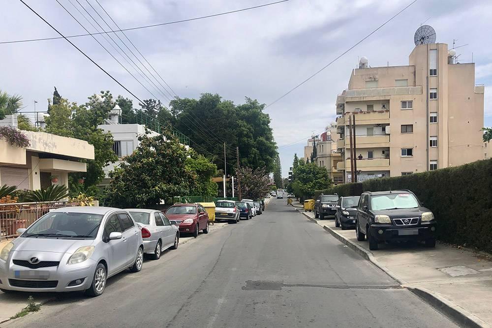 Так выглядят тротуары в районе Неаполис