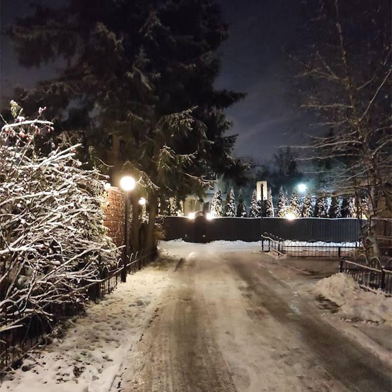 Улица в нашем поселке
