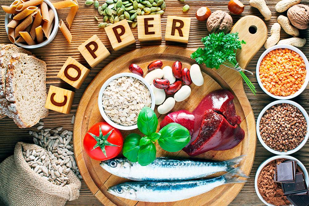 Медь есть во многих продуктах, нолюди, которые придерживаются обычной диеты, получают более60% этого металла израстительной пищи. Источник: Evan Lorne / Shutterstock