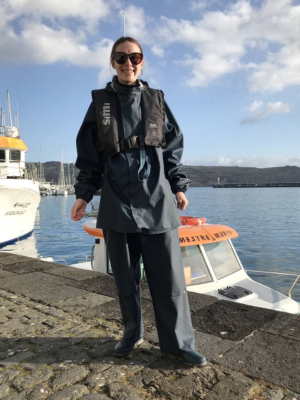 Прорезиненные костюмы для выхода в море