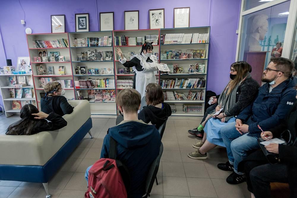 Ночь музеев 2021в «Центре манги и комиксов». Источник:vk.com