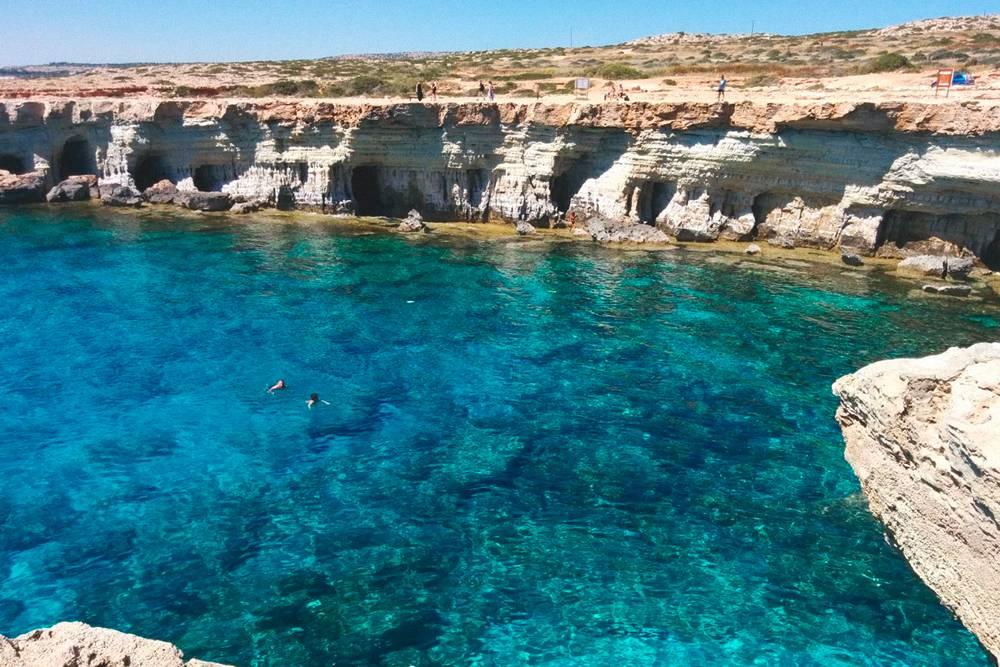 Морские пещеры — гроты Айя-Напы