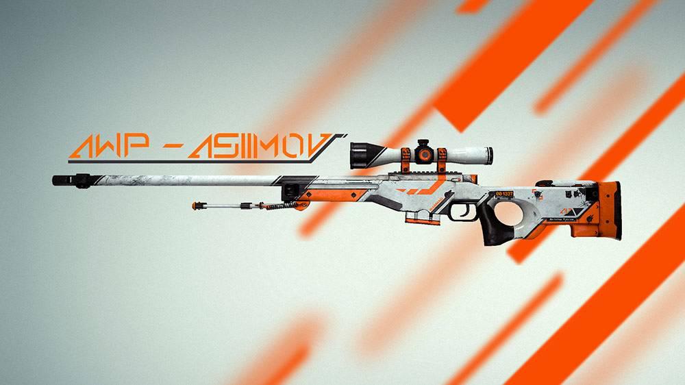 Один из самых популярных скинов на снайперскую винтовку AWP