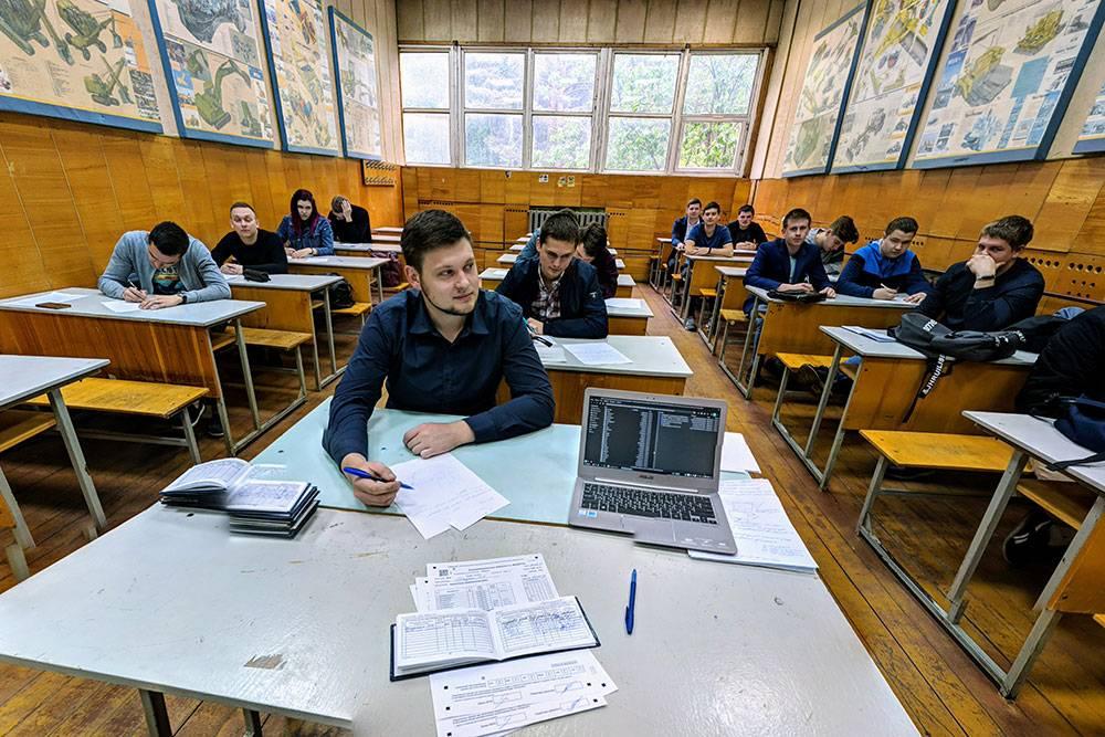 Михаил 16 лет проработал в Пермском политехническом университете. Фото 2018 года