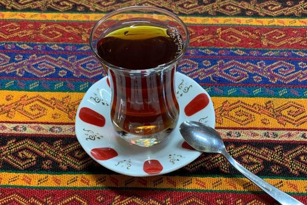 Фотогеничный турецкий чай