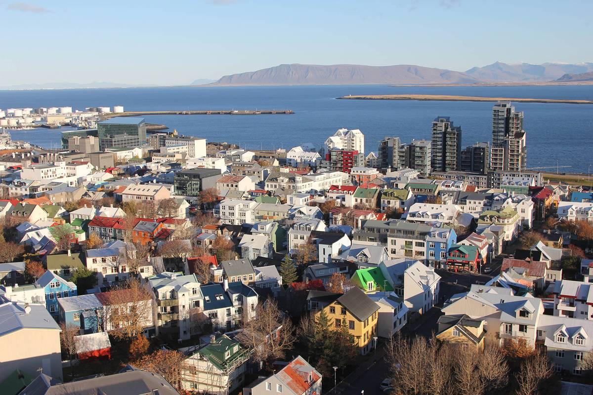 Центр Рейкьявика. Снять однокомнатную квартиру в этом районе стоит от 150 000 крон (88 300<span class=ruble>Р</span>)