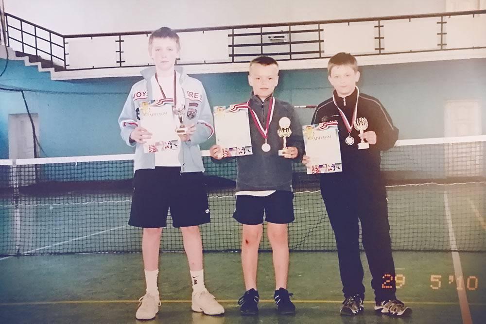 В 12 лет я участвовал в турнире им.Н.А.Созонтова вКашире. Занял 3-е место