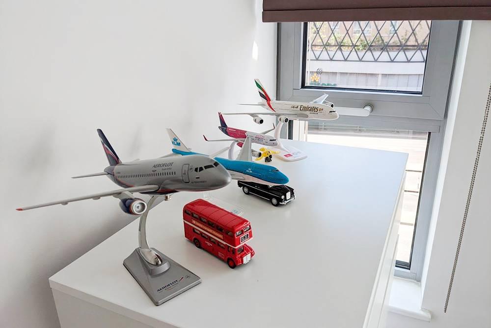 Моя коллекция самолетов