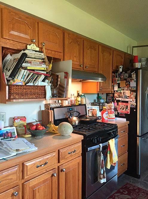 Уютная кухня моей хост-семьи