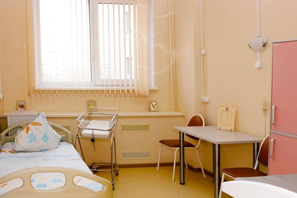 Моя послеродовая палата в ГКБ № 24. Фото: Городская больница № 8