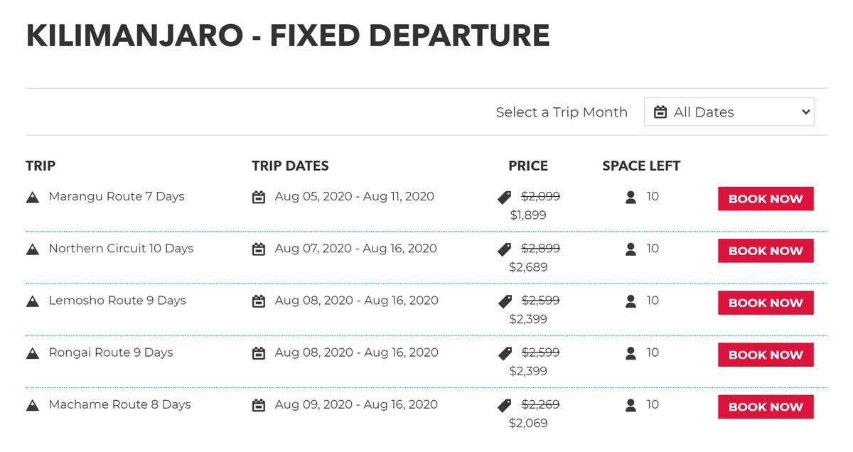На сайтах туроператоров можно сразу же записаться в группу на подходящие вам даты