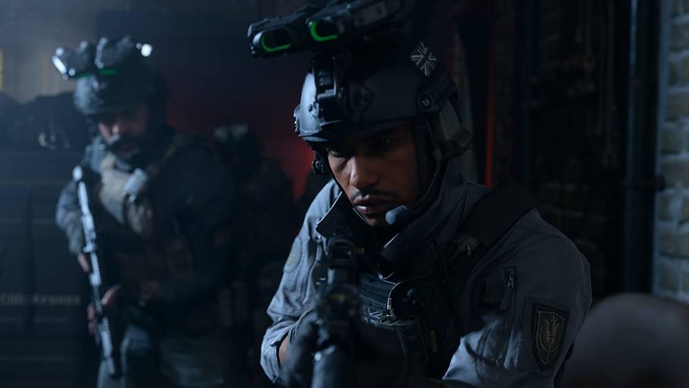 Глубина резкости включена. Игра — Call of Duty: Modern Warfare. Источник: nvidia.com