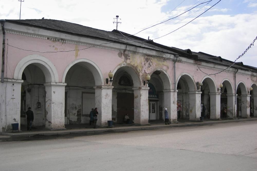 Старинные здания в Вышнем Волочке, кажется, никто не собирается восстанавливать
