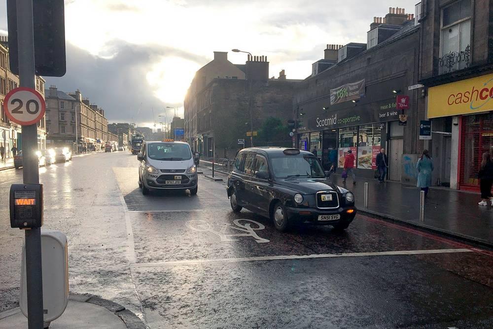 Эдинбургские такси
