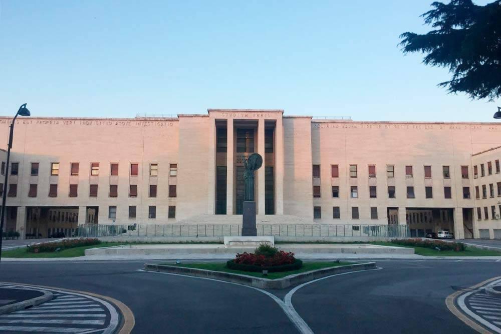 Университет Сапиенца, в котором я учусь