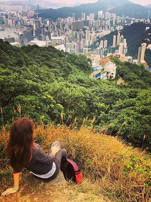 Самая высокая точка острова Гонконг