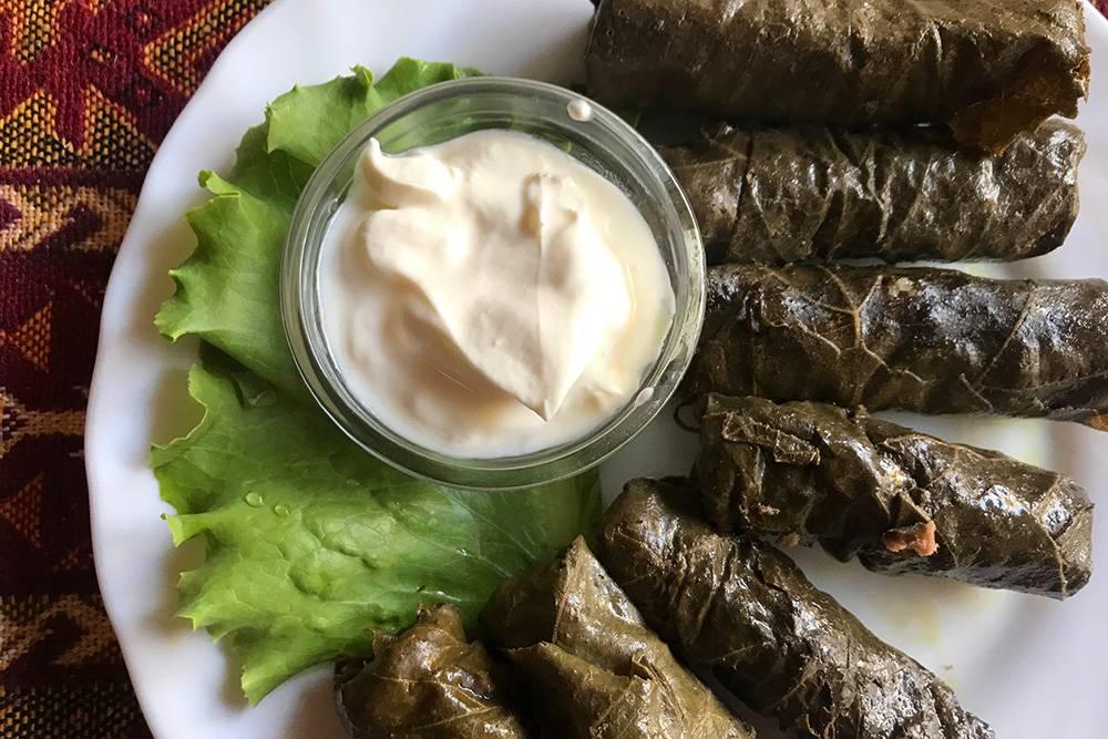 Сарма — мое любимое блюдо в крымско-татарской кухне