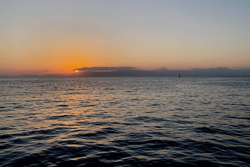 Красивыми закатами можно любоваться из любой точки Мальорки