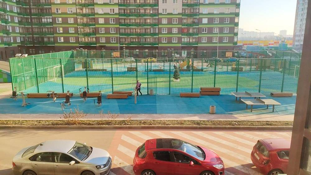 Почти в каждом дворе Путилкова есть спортивные площадки