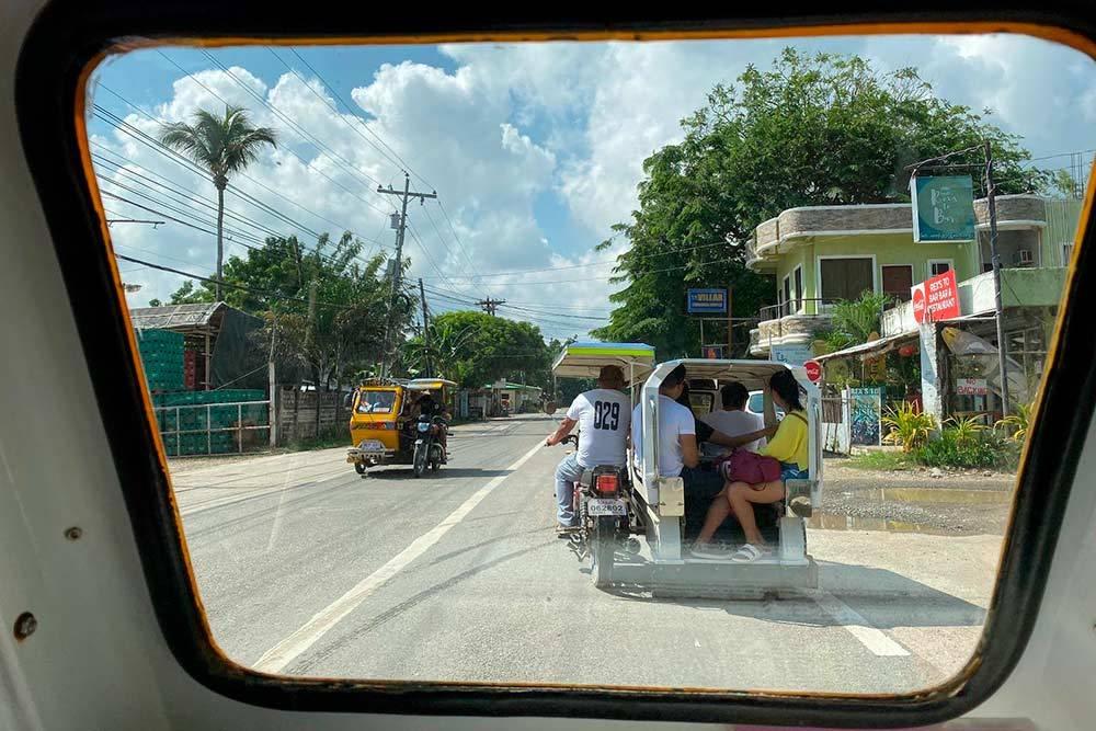 Трайсиклы — самый распространенный транспорт на небольших островах