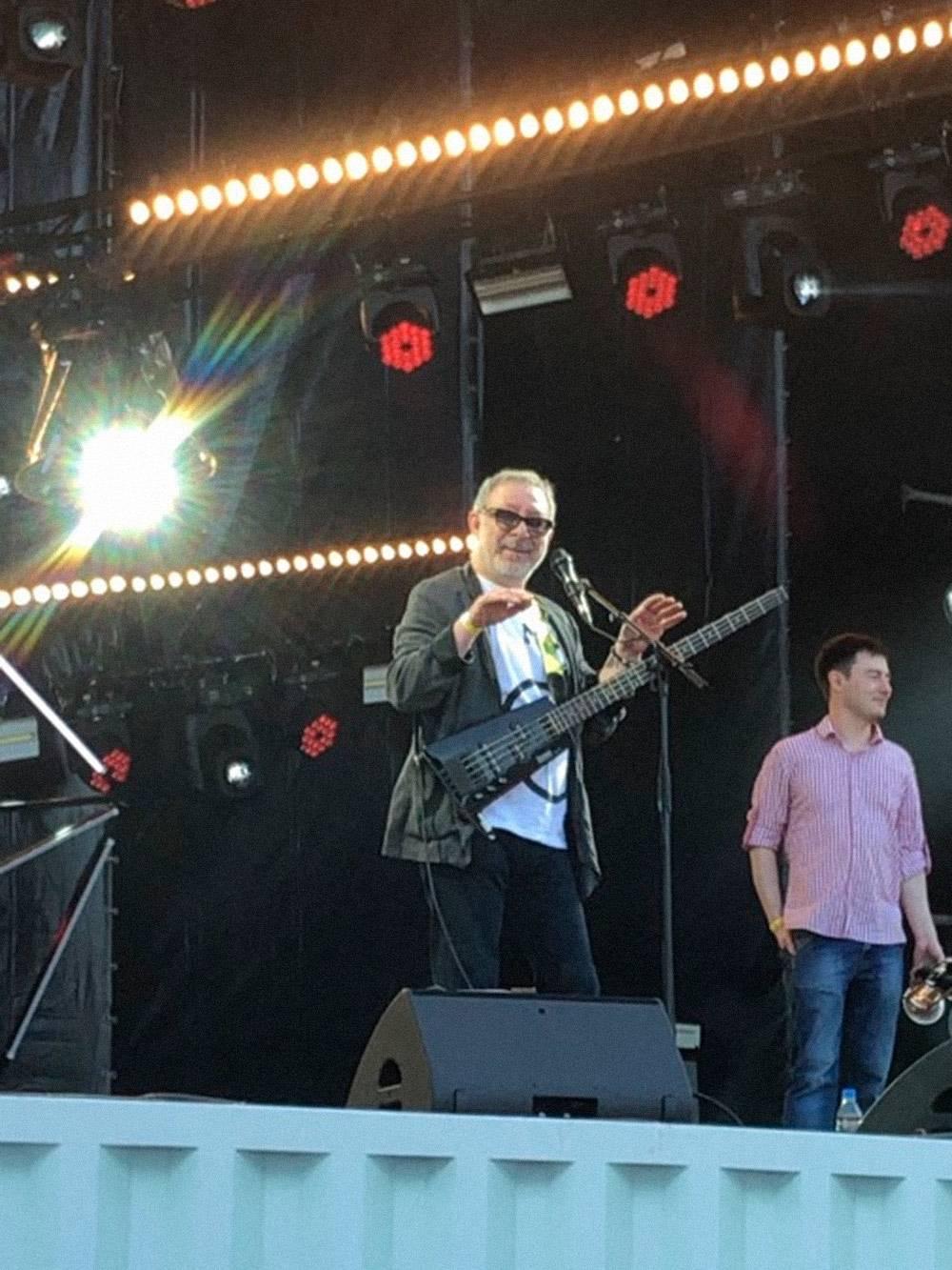 Евгений Маргулис на празднике «Николин день» в «Коломенском»