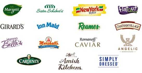 Логотипы брендов компании. Источник: сайт компании