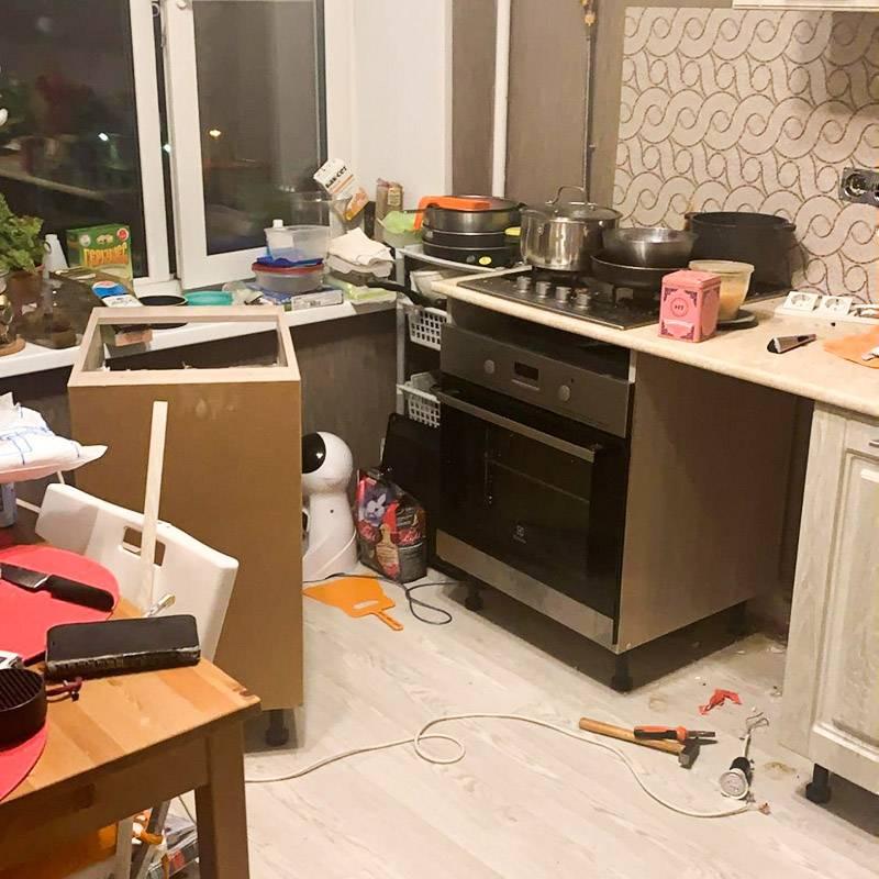 Квартира после электрика
