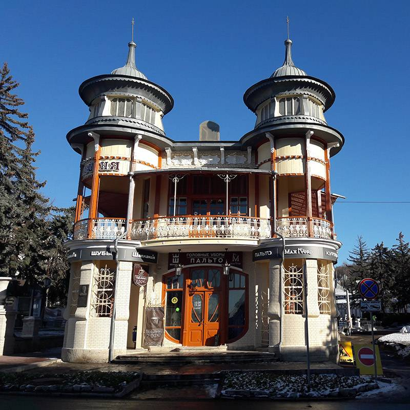 Так выглядит сейчас бывшая кофейня Гукасова в Пятигорске
