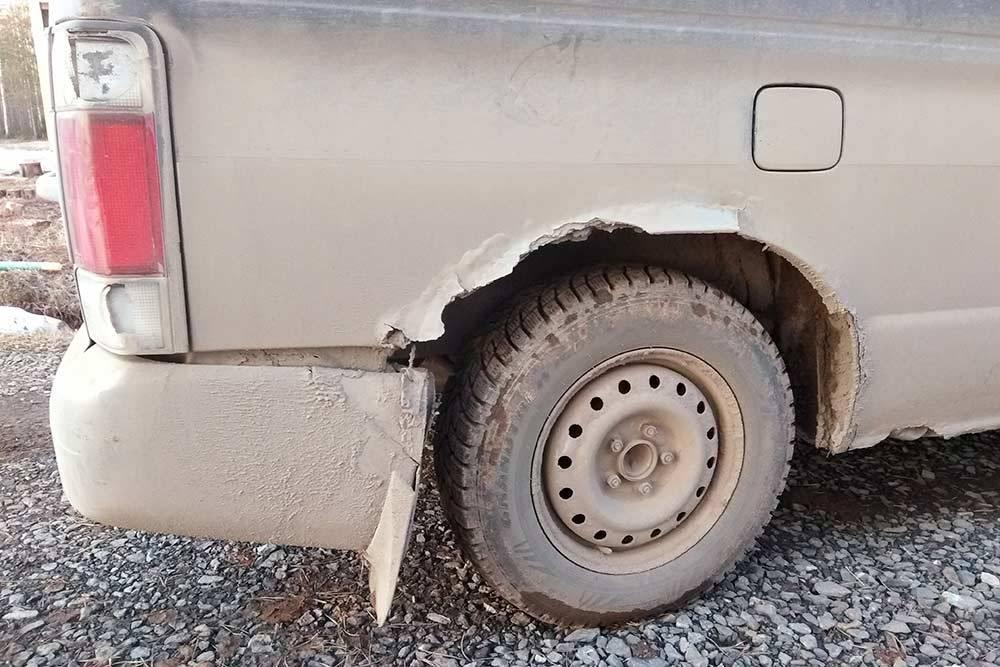 Так выглядел автомобиль до ремонта