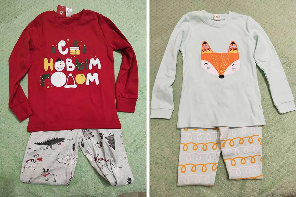 Такие пижамки будут на детях в новогоднюю ночь