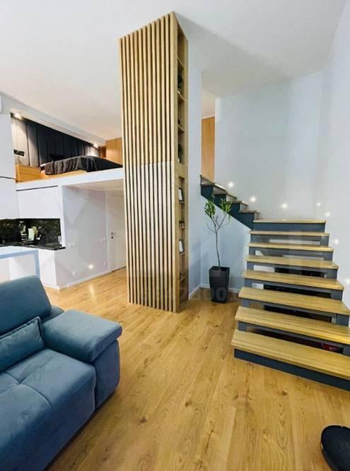 Пример надстройки второго уровня в квартире первого этажа в ЖК «Рассказово». Источник: «Циан»