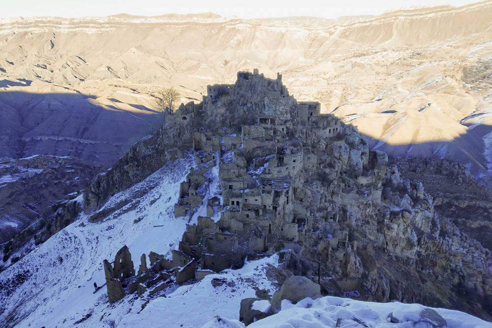 Село Гамсутль в Дагестане