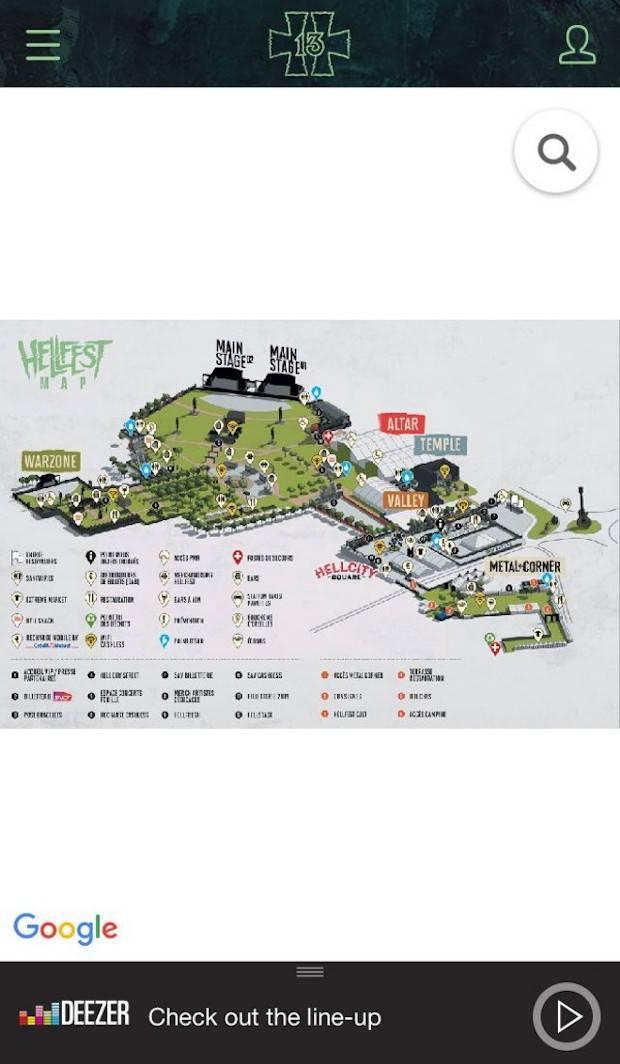 Масштабируемая карта места