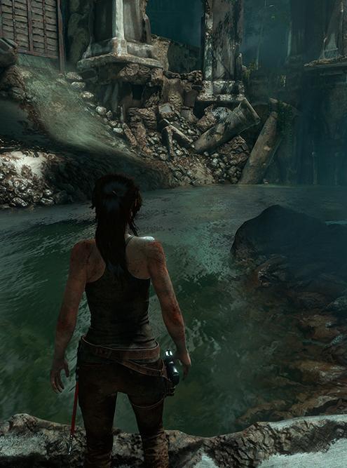 Отражения выключены. Пропала лишь часть зеркальной поверхности на воде. Источник: nvidia.com