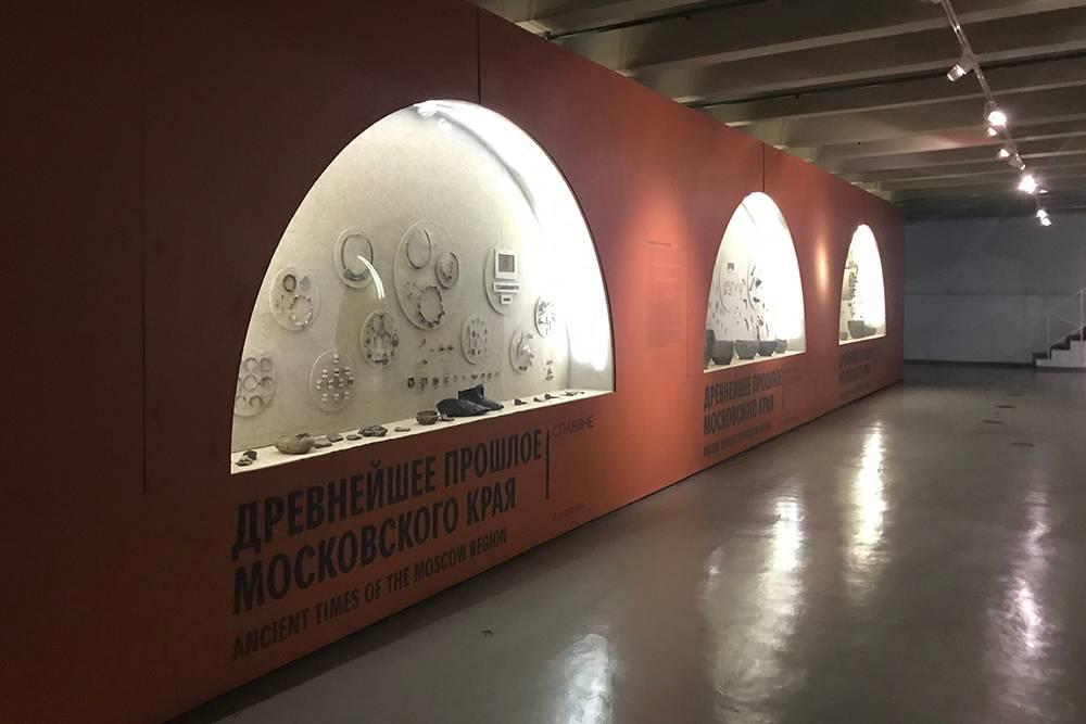 Аскетичный интерьер Музея Москвы