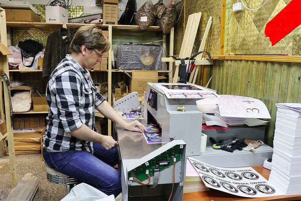 Артем работает в «Твоей типографии» пять лет