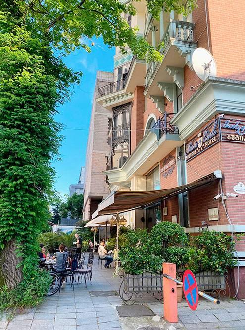 «Старый бульвар» — любимый ресторан моей жены