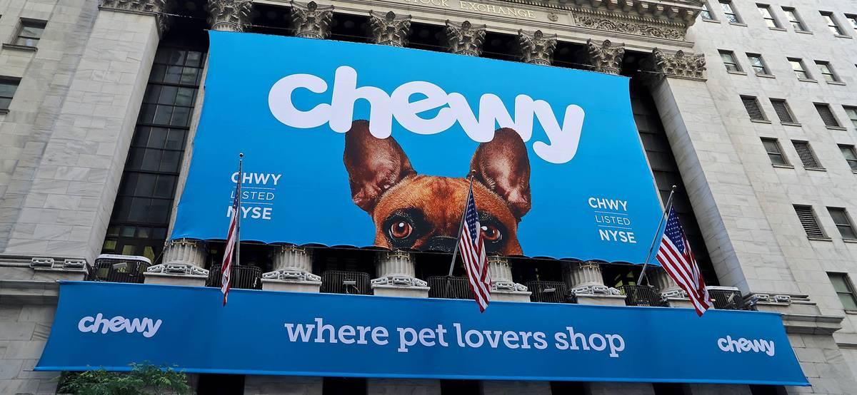 Chewy получает прибыль и повышает прогноз продаж