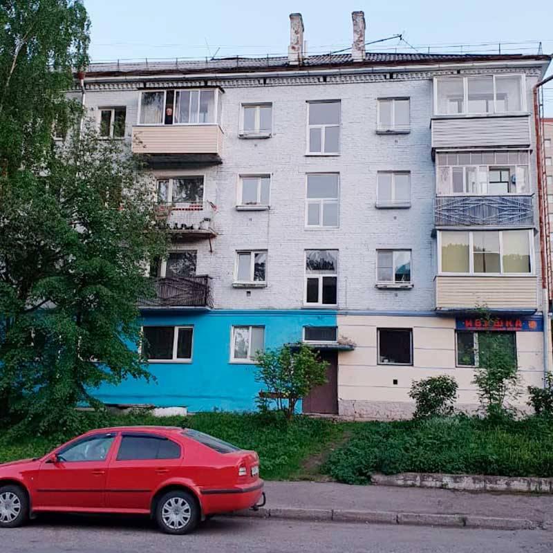 Из таких домов по большей части состоит город