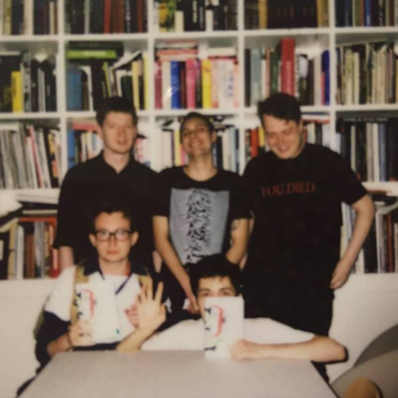 Фотография с заседания книжного клуба, посвященного «Чевенгуру» Платонова