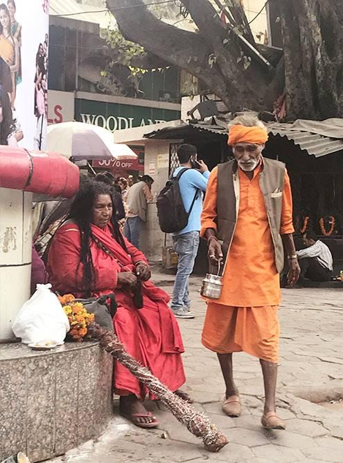Жители Индии выглядят очень колоритно