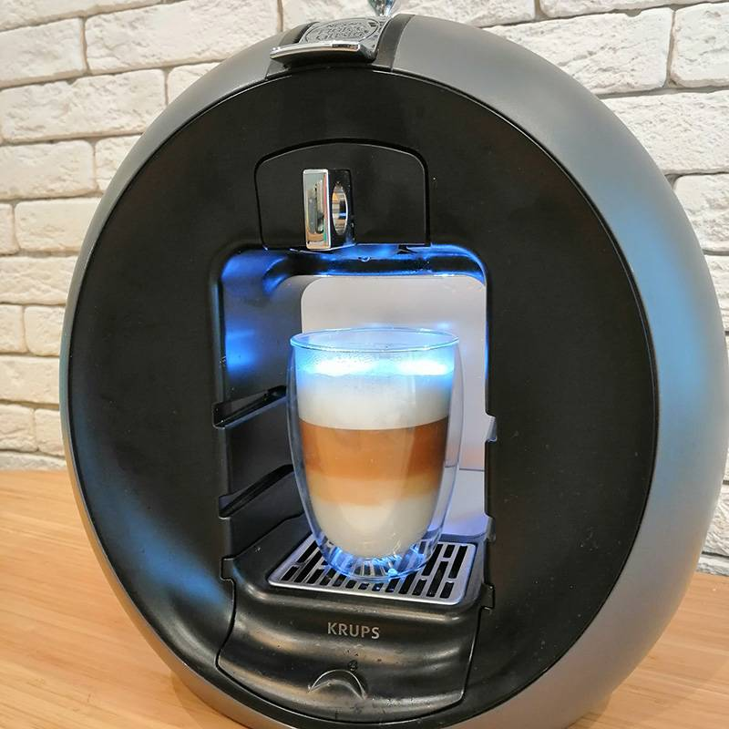 Латте из капсульной кофемашины